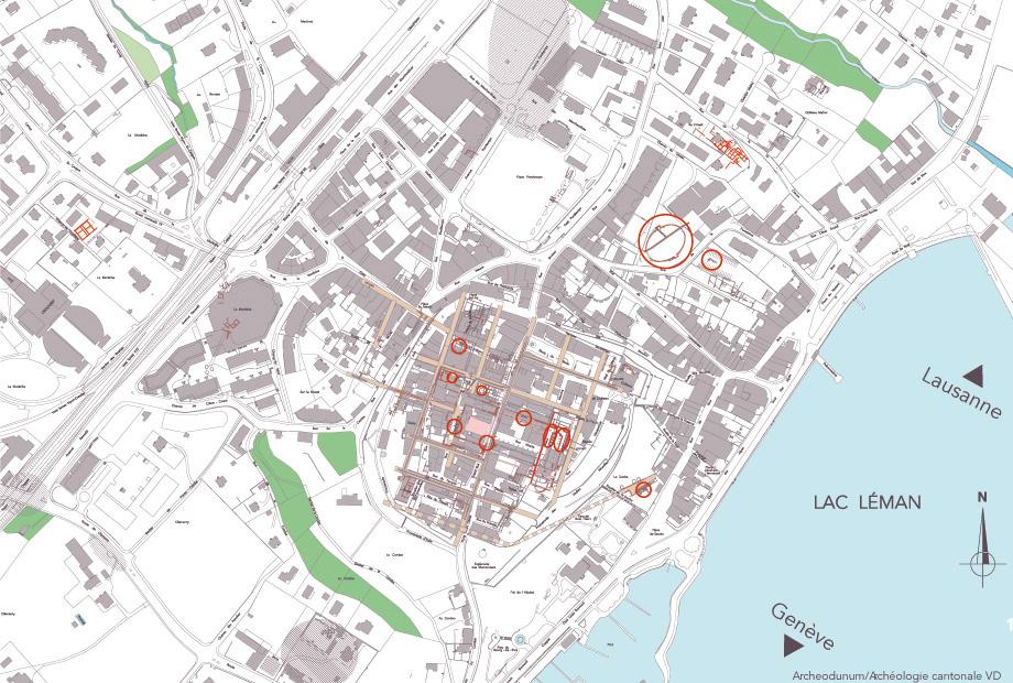 Nyons Plan Ville